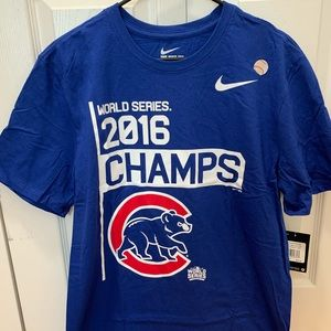 Nike Mens Chicago Cubs 2016 World Series T-Shirt